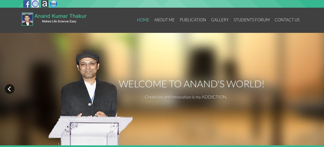 Anand Kumar Thakur